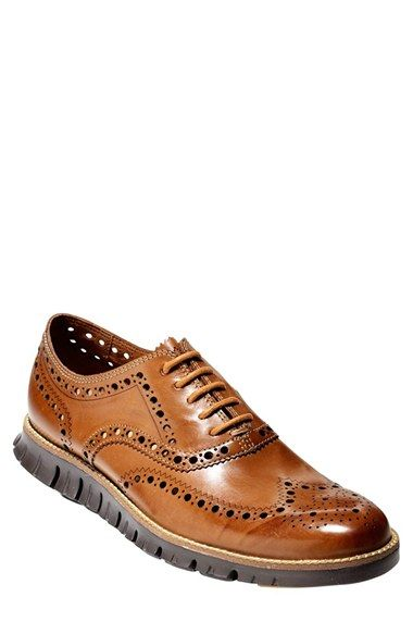 Cole Haan 'ZerøGrand' Wingtip (Men) available at #Nordstrom