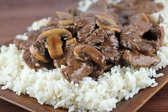 Chinese Beef with Mushrooms Recipe | Free Online Recipes | Free Recipes