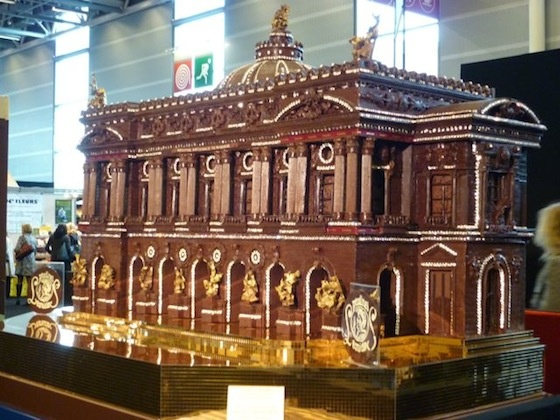Mansion Made Out of Chocolate