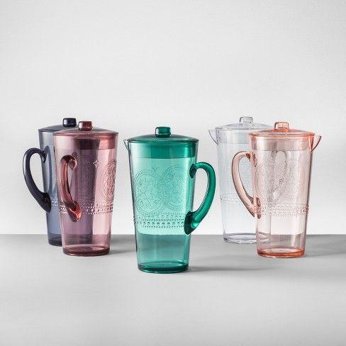 10 Plastic Beverage Pitcher 66oz Opalhouse Target
