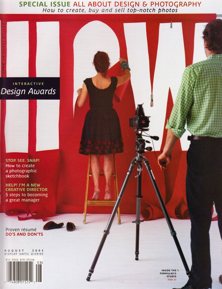 HOW Magazine Covers - Design InspirationMagazine Cover Design Inspiration