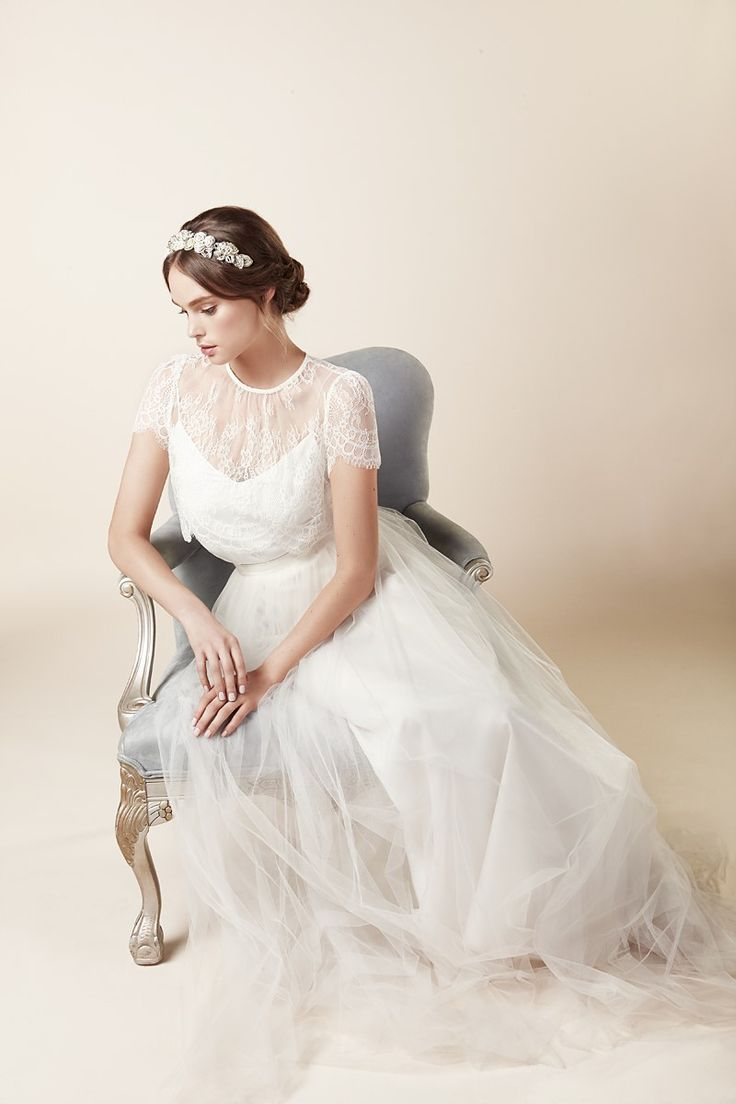 Botanical inspired bridal accessories for the elegant bride