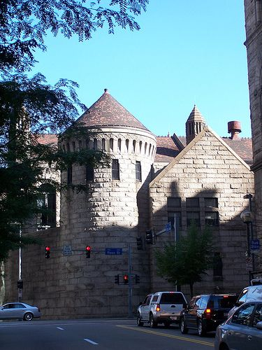 Allegheny County Jail - Pittsburgh - H.H.Richardson
