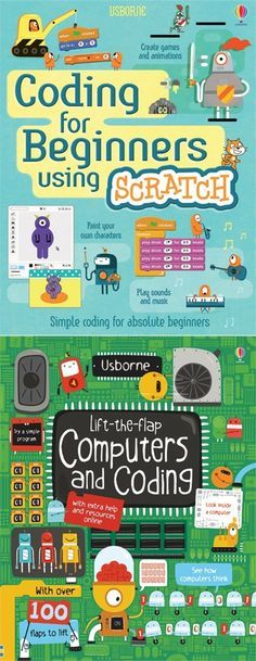 Does your kid want to create their own computer games? These fun guidebooks teach children the basics of coding, programming, and writing software.