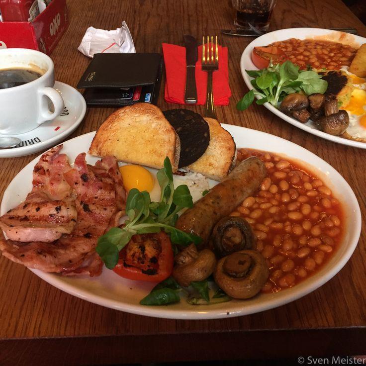 POLO BAR in der Nähe von Liverpool Street   Englisches Frühstück vom feinsten