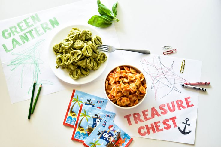 Angelo's Green Lantern Pasta and Treasure Chest Pasta. Getting your kids involved at the preparation stage of the meal is effective in teaching kids about nutrition, and it gets them excited to eat what they've created! Why not get them to stir through their favourite sauce into through an Angelo's Pasta, call it a name which they resonate with and they'll eat the lot! Head to our website for more tips and tricks when it comes to cooking for kids during Back to School.