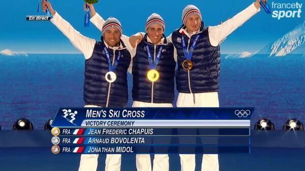 Nombre de médailles de la France aux JO 2014 - http://www.actusports.fr/89695/nombre-de-medailles-de-la-france-aux-jo-2014/