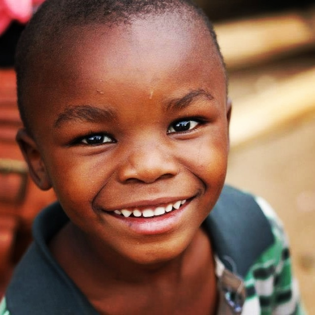Our gorgeous and soccer mad Kelly now living in our Children's Home in Kenya. www.suluhisho.com #suluhisho #smile #child #happy