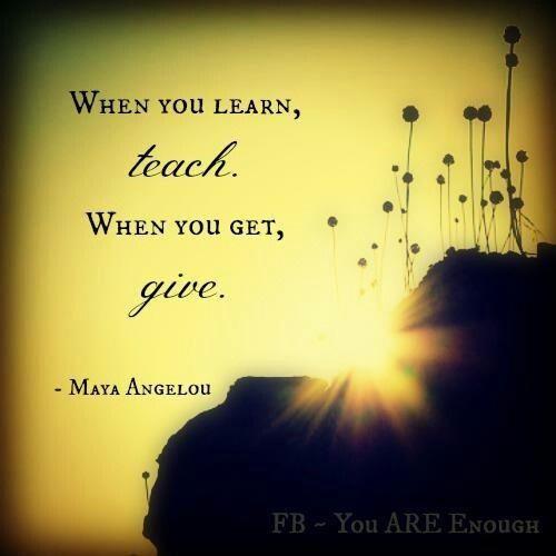Maya Angelou...thats so me!