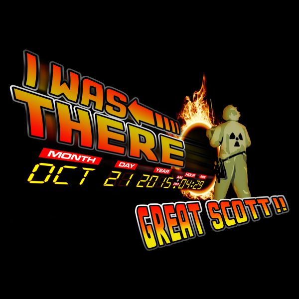 Back to the future day - Great scott!!