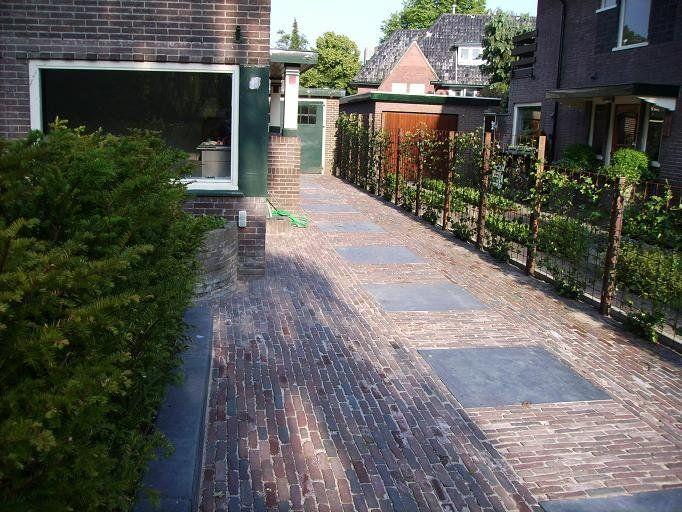 Jaren30woningen.nl | Idee voor de oprit bij een jaren 30 woning