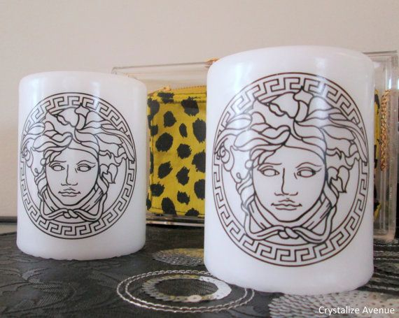 Versace Candle Designer by CrystalizeAvenue on Etsy