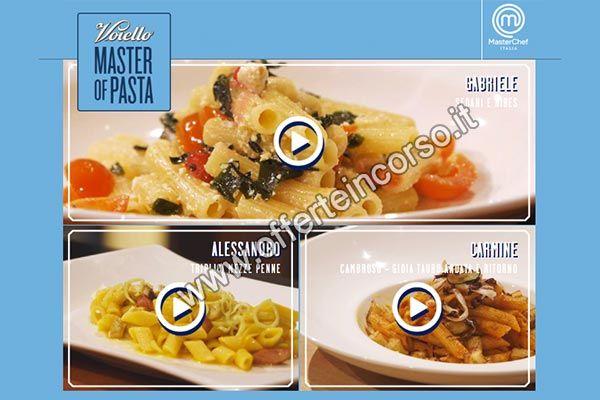 """Vota la tua ricetta preferita su Facebook, oppure sul sito """"Master Of Pasta"""" e vinci subito un kit premio con saltapasta firmato Voiello! Nuove ricette ti aspettano!"""