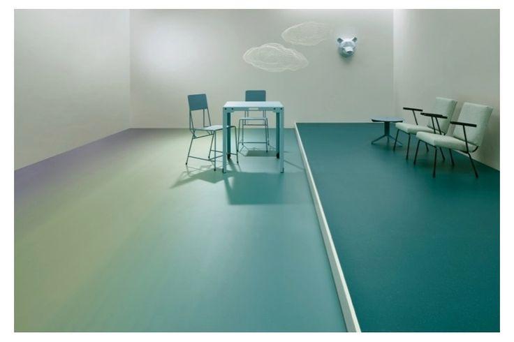 Pvc vinyl mat tiles pattern decorative linoleum rug orange and