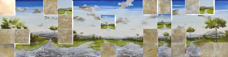 Construção de Um Sonho 2013 Oil on Canvas
