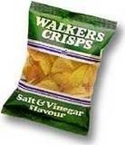walkers crisps in see through packets