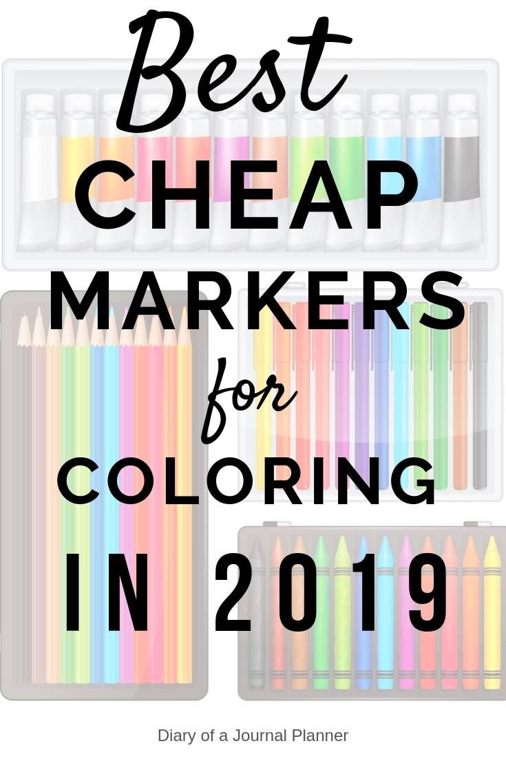 - Best Markers For Coloring Books And Pages (2020) Coloring Books