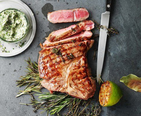 how to cook lamb leg steaks on the bbq