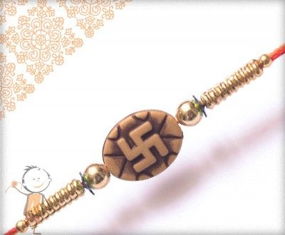 Mauli #Rakhi Collection 2015 – Send #Rakhi to #India, #USA, #UK, #Canada, #Australia, #Dubai #NZ #Singapore.  Traditional Swastik Rakhi, surprise your loved ones with roli chawal, chocolates and a greeting card as it is also a part of our package and that too without any extra charges. http://www.bablarakhi.com/send-fancy-rakhi-online/900-send-traditional-swastik-rakhi-online.html