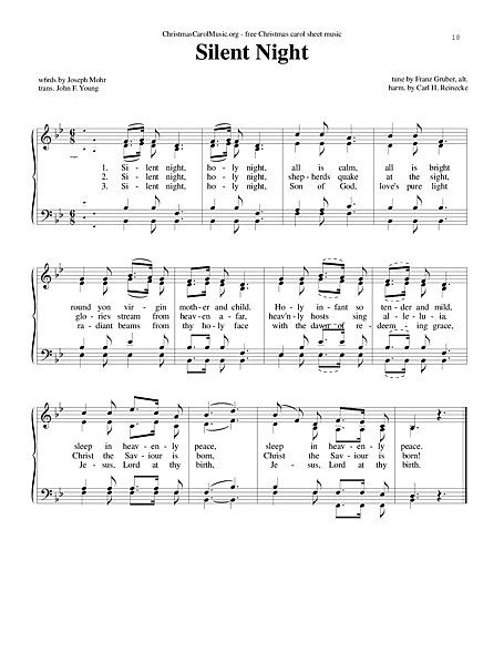 Hundreds of FREE Sheet Music to Download and Print ...Great background paper for Christmas decor and other craft projects.