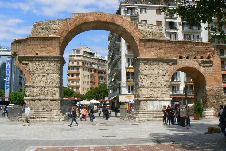 Galerios Apsid, Kamara, Egnatia Thessaloniki