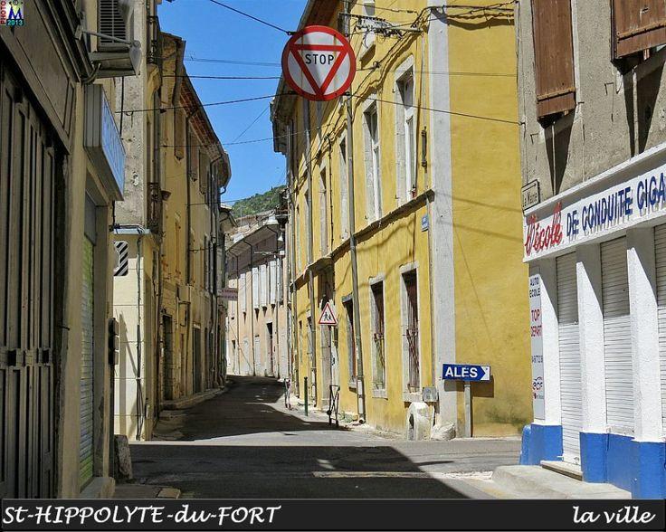 St HIPPOLYTE-DU-FORT une rue