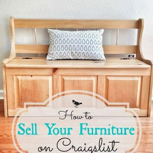 Downsizing: How to Sell Furniture on Craigslist