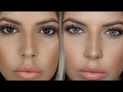 eef97c09430 Grey Eye Contacts Non Prescription.Basic Colors Contact Lenses. Buy ...