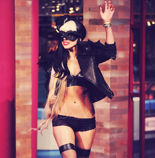 ..Gαgα Ιитєяνιєω, Sex, Lady Gaga, Gaga 3, Mothers Monsters, Leather Jackets, David Letterman, Ladygaga Ab, Style Fashion