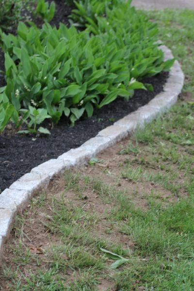Garden Edge Ideas scrap treated wood as garden edging Best 20 Flower Bed Edging Ideas On Pinterest