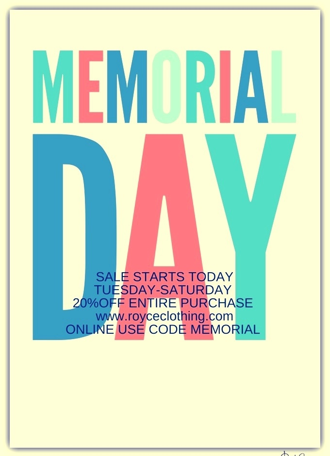 memorial day who is off