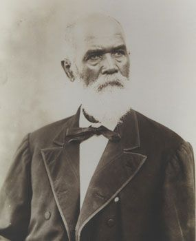 "SAM JOHNSON, ex-slave of President Andrew Johnson, and half-brother of ""Dolly"" (At age 14, she was the first slave purchased by Johnson), became a Freedmen's Bureau Commissioner following the Civil War in Greeneville, Tennessee. He sent a letter to President Johnson, asking to buy land for a ""School House for the education of the Coloured children of Greeneville…"" Andrew Johnson gave Sam the tract of land for this purpose. ~ Andrew Johnson's daughter, Martha, remarked that Sam did not belong…"