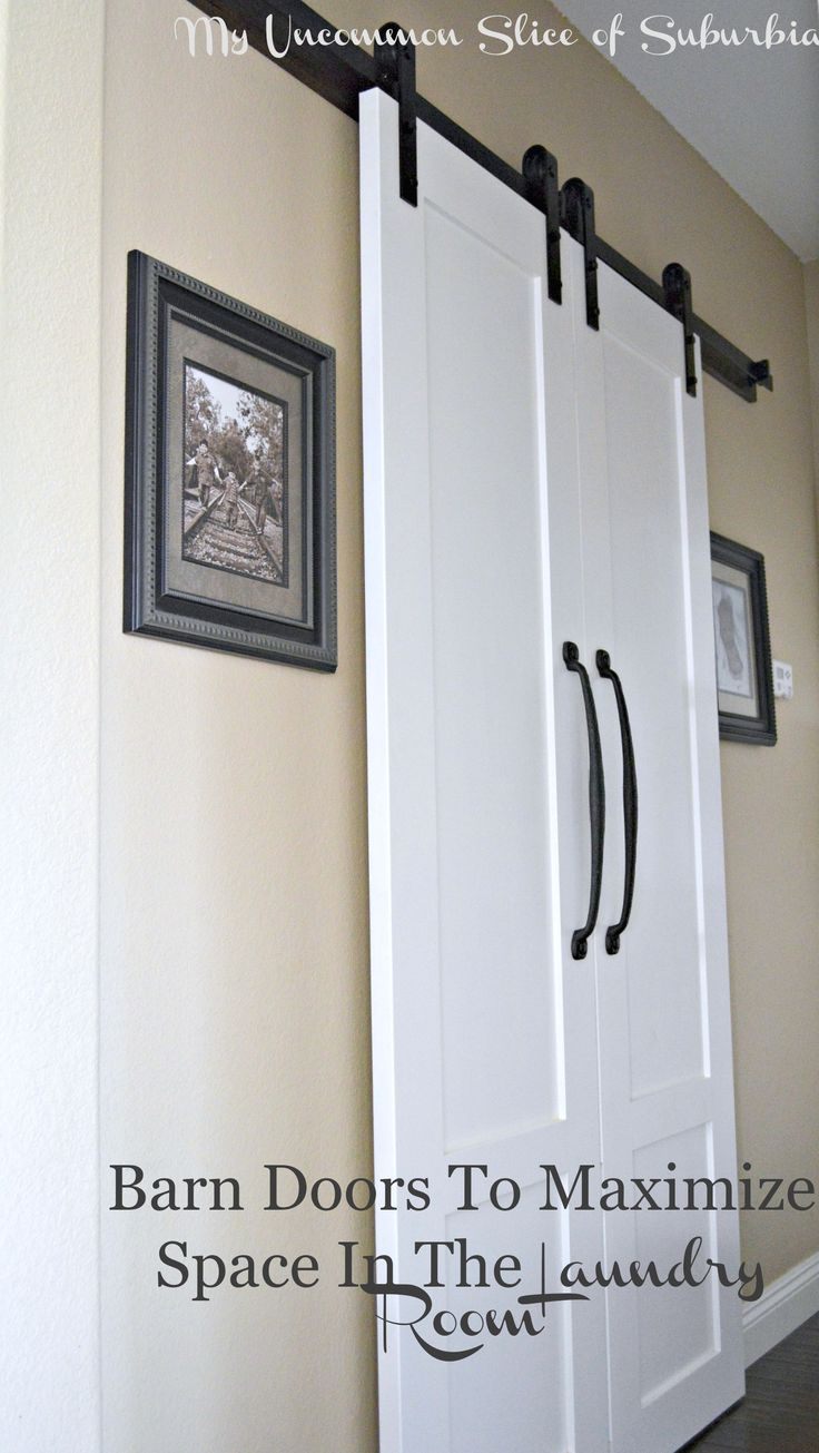 Superb Barn Doors For The Laundry Room