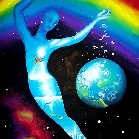 Inner universe surrealist painting