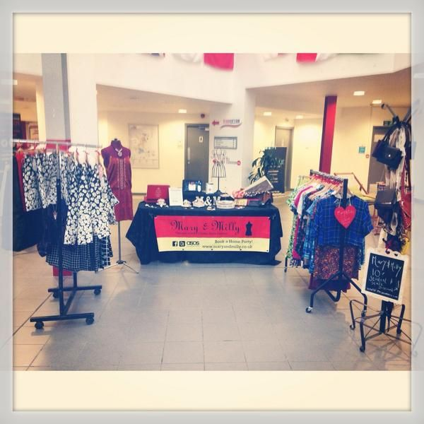 Monday's pop up shop at UCLan. Find us downstairs in the SU!