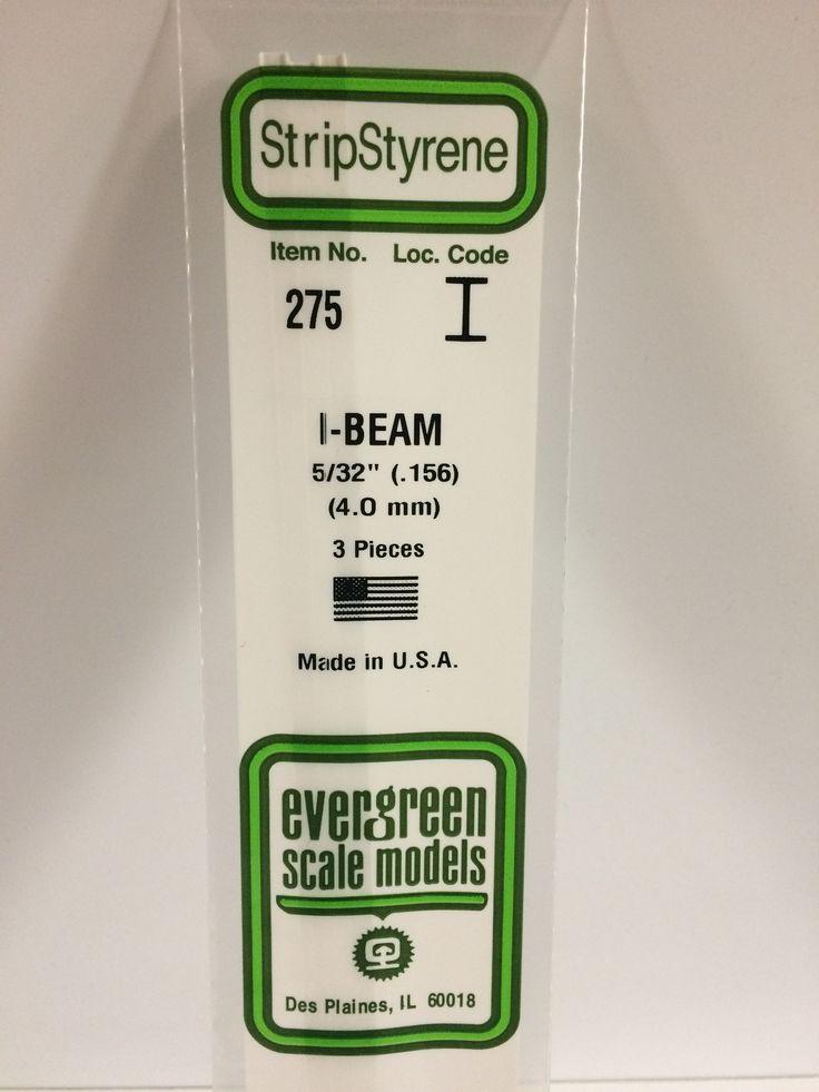 275 156 40mm opaque white polystyrene ibeam label