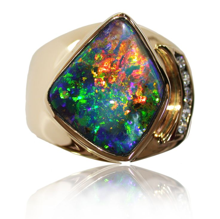 Opal Jewelry Is Or Was Available From Sunrise Opals Quilpie Or Montville Queensland