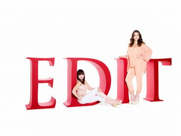 EDIT by Jeanne Beker and Addition Elle S/S 2013
