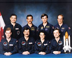 Canadian Space Agency Astronaut Corps, 1992.