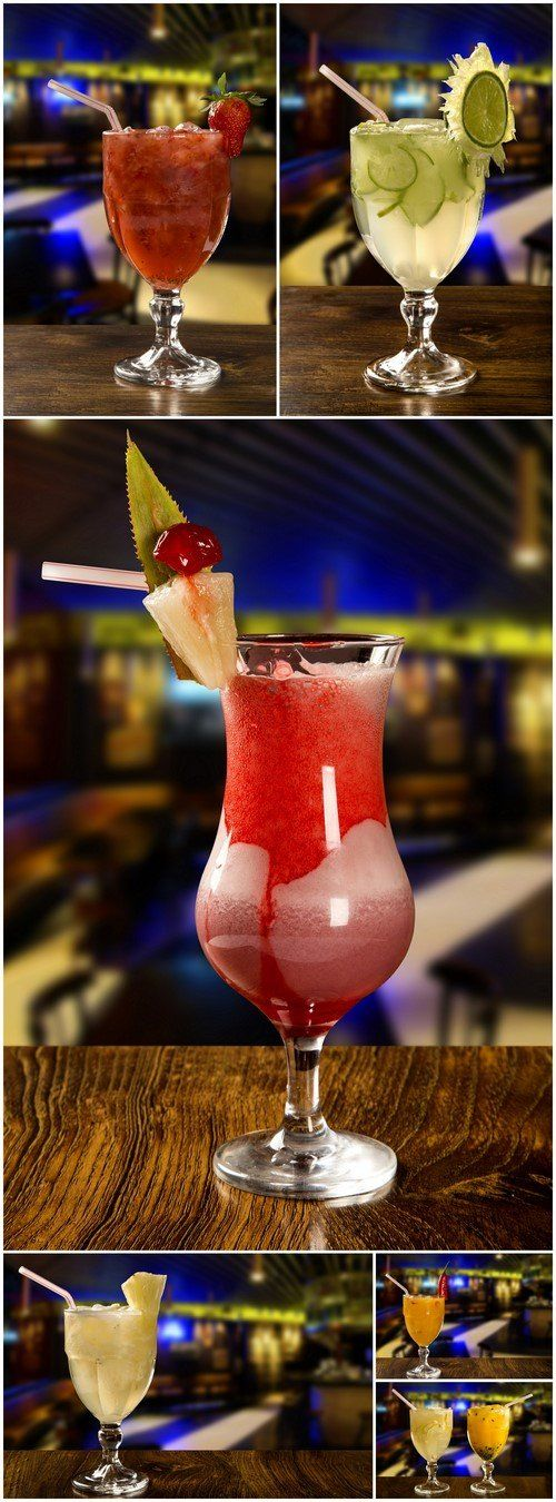 Cocktail on blurry bar background 6X JPEG