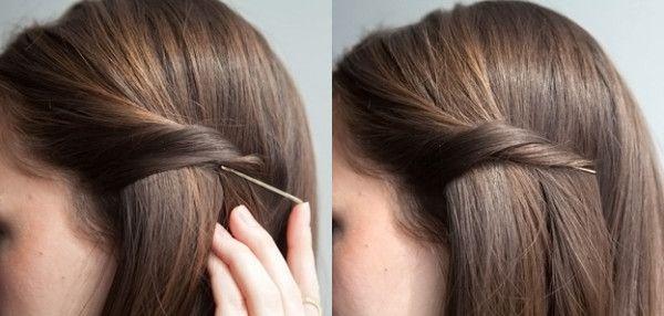 Как красиво заколоть волосы: короткие, средние, длинные