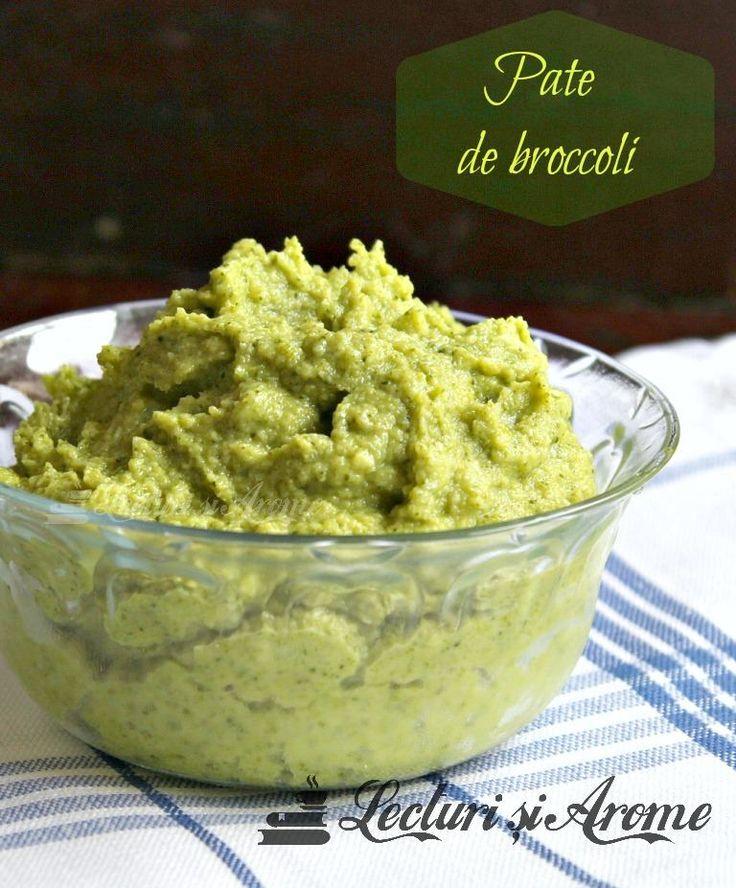 Pate de broccoli de post/vegan
