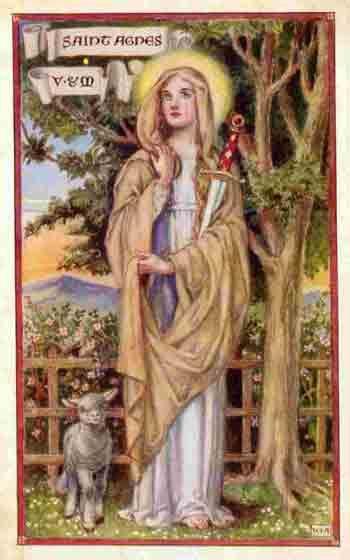 Mejores 122 imágenes de st. agnes en Pinterest | Católico, Arte ...
