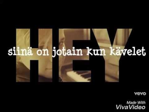 Hey you-Marcus and Martinus (finnish Lyrics)