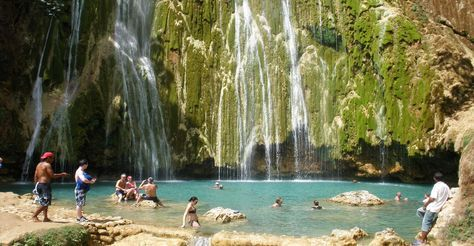 One of the Best Excursions in Samana : Salto Del Limon Waterfall Tour from Las Terrenas, Samana Dominican Republic.