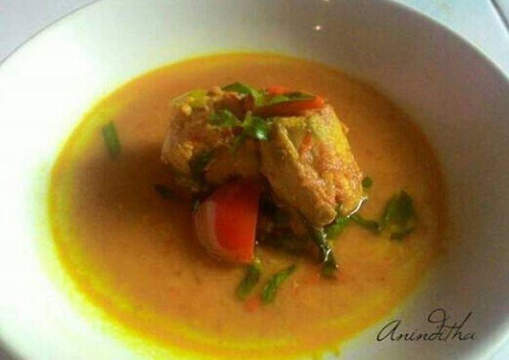 Resep Sup ikan nibung kuah kuning