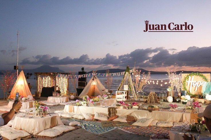 Juan Carlo's Bohemian inspiré at Liza Soberano's debut. #DebutByJuanCarlo #JuanCarloInspired