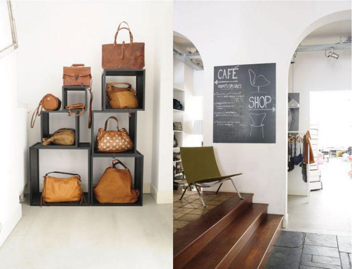 Friday next is een concept store in het hart van Amsterdam. Hier vind je een compleet nieuwe aanpak waarin interieur, mode, design en horeca samenkomen. De combinatie van grote bekende merken en kleine exclusieve collecties van Nederlandse ontwerpers geeft een fijne balans in de winkel.