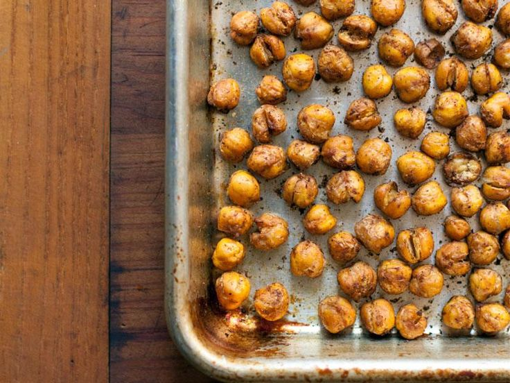Naturally healthy and tasty, Chickpeas are a kitchen hero! This roasted chickpea…   – Food!