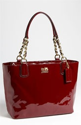 COACH 'Madison' Patent Leather Tote
